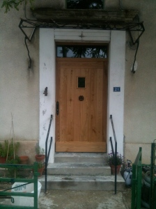 Et voila, a beautiful door