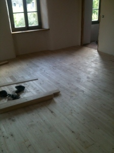 Creating our own space, our bedroom and bathroom