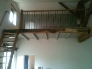 The mezzanine has been made safe and is ready to use